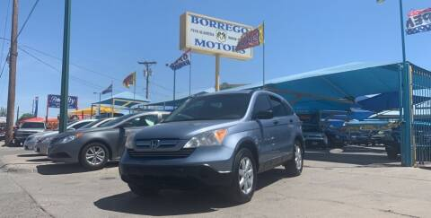 2008 Honda CR-V for sale at Borrego Motors in El Paso TX