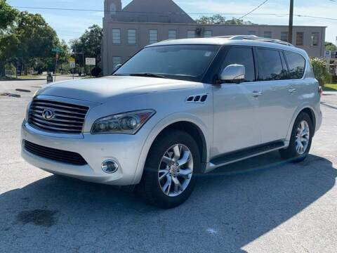 2011 Infiniti QX56 for sale at Consumer Auto Credit in Tampa FL