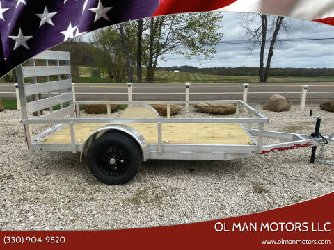 2021 WOLVERINE 5X10 UTILITY for sale at Ol Man Motors LLC in Louisville OH