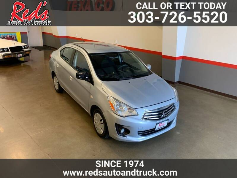 2018 Mitsubishi Mirage G4 for sale at Red's Auto and Truck in Longmont CO