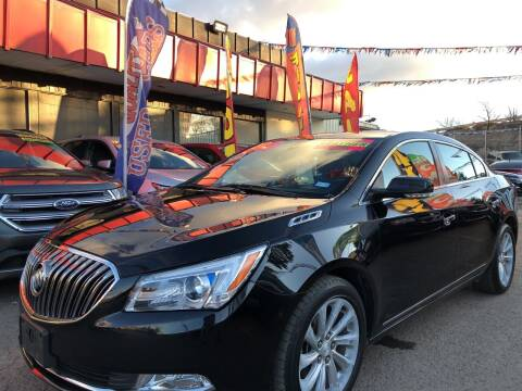 2016 Buick LaCrosse for sale at Duke City Auto LLC in Gallup NM