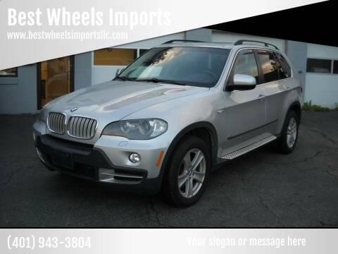 2008 BMW X5 for sale at Best Wheels Imports in Johnston RI