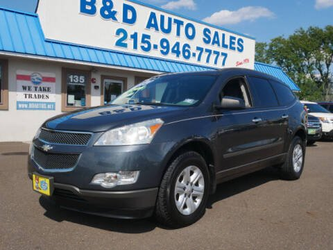 2011 Chevrolet Traverse for sale at B & D Auto Sales Inc. in Fairless Hills PA