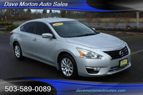 2014 Nissan Altima for sale at Dave Morton Auto Sales in Salem OR