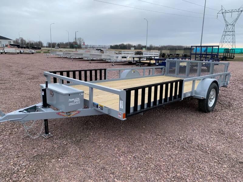 2021 H&H Rail Side 82x14 ATV #9702 for sale at Prairie Wind Trailers, LLC in Harrisburg SD