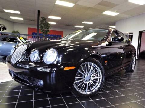 2003 Jaguar S-Type R for sale at SAINT CHARLES MOTORCARS in Saint Charles IL