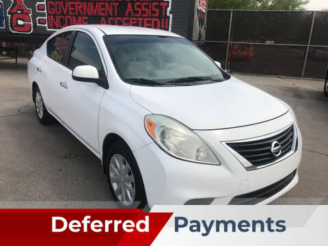 2012 Nissan Versa for sale at Rock Star Auto Sales in Las Vegas NV