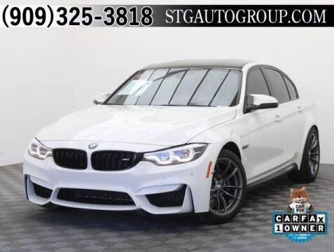 2018 BMW M3 for sale at STG Auto Group in Montclair CA