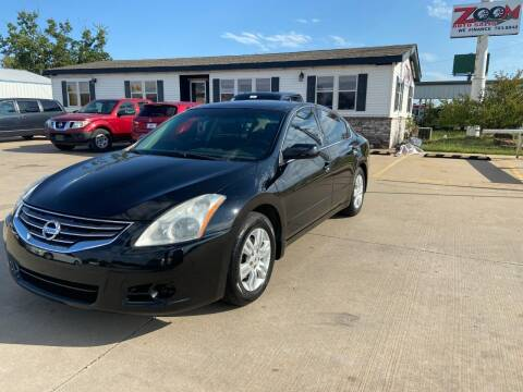 2011 Nissan Altima for sale at Zoom Auto Sales in Oklahoma City OK
