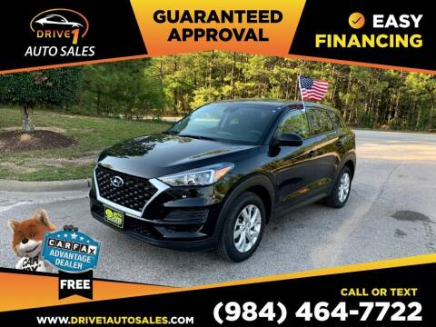2020 Hyundai Tucson for sale at Drive 1 Auto Sales in Wake Forest NC