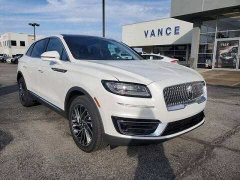 2020 Lincoln Nautilus for sale at Vance Fleet Services in Guthrie OK