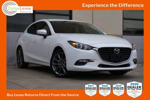 2018 Mazda MAZDA3 for sale at Dallas Auto Finance in Dallas TX