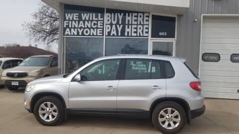 2009 Volkswagen Tiguan for sale at STERLING MOTORS in Watertown SD