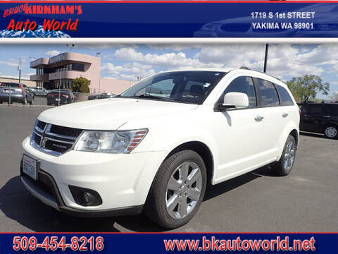 2011 Dodge Journey for sale at Bruce Kirkham Auto World in Yakima WA