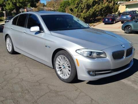 2013 BMW 5 Series for sale at CAR CITY SALES in La Crescenta CA