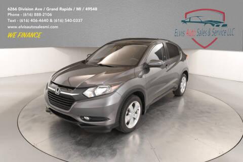 2016 Honda HR-V for sale at Elvis Auto Sales LLC in Grand Rapids MI