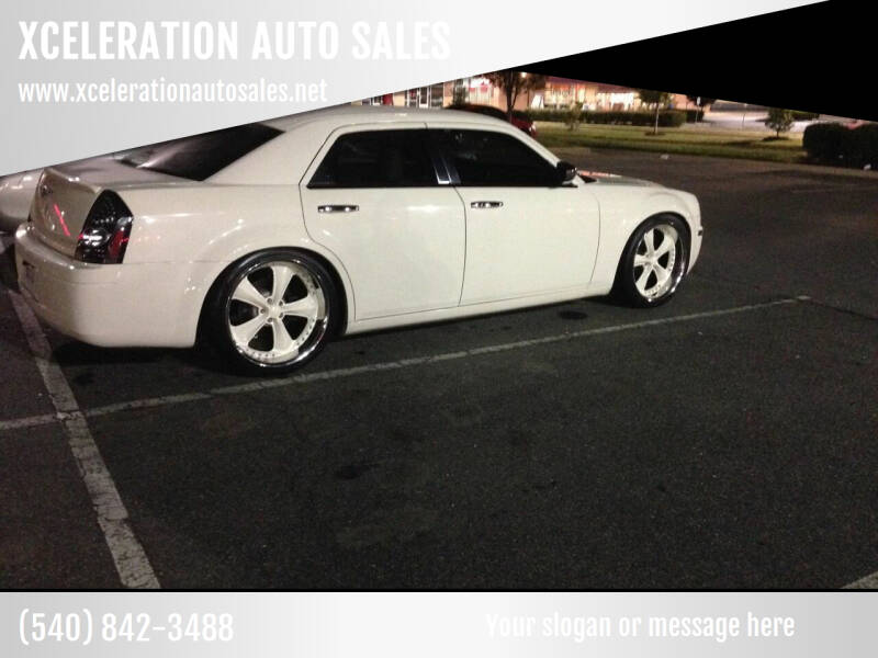 2006 Chrysler 300 for sale at XCELERATION AUTO SALES in Chester VA