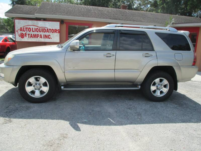 2004 Toyota 4Runner for sale at Auto Liquidators of Tampa in Tampa FL