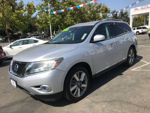 2013 Nissan Pathfinder for sale at Autos Wholesale in Hayward CA