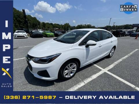 2019 Chevrolet Cruze for sale at Impex Auto Sales in Greensboro NC
