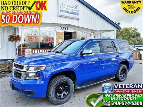 2015 Chevrolet Tahoe for sale at North Oakland Motors in Waterford MI