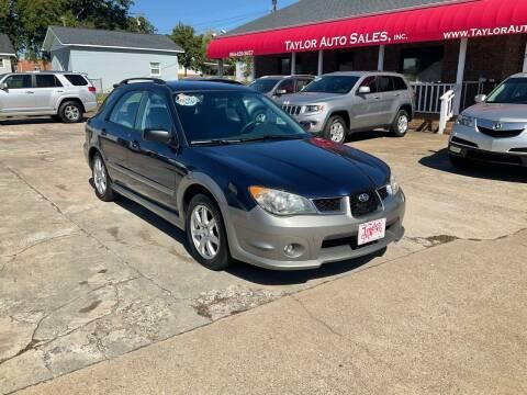 2006 Subaru Impreza for sale at Taylor Auto Sales Inc in Lyman SC