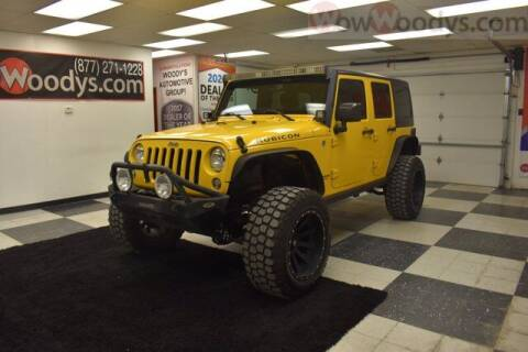 2015 Jeep Wrangler Unlimited for sale at WOODY'S AUTOMOTIVE GROUP in Chillicothe MO