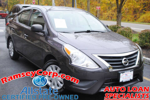 2015 Nissan Versa for sale at Ramsey Corp. in West Milford NJ
