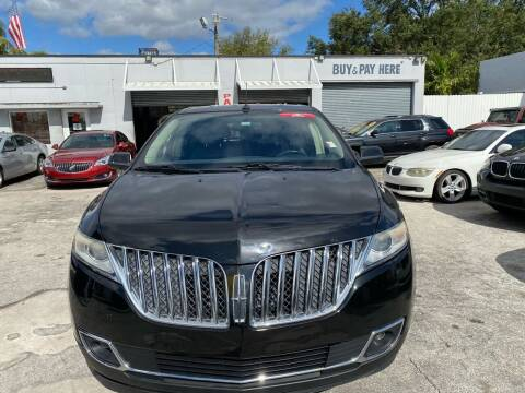 2013 Lincoln MKX for sale at America Auto Wholesale Inc in Miami FL