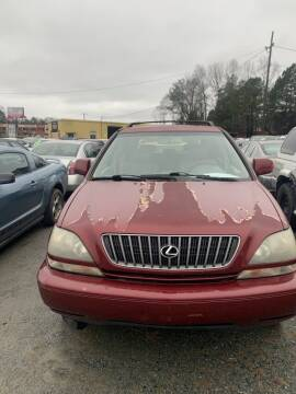 2000 Lexus RX 300 for sale at J D USED AUTO SALES INC in Doraville GA