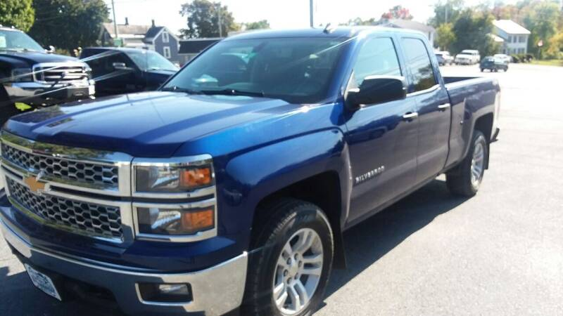 2014 Chevrolet Silverado 1500 for sale at Pittsford Automotive Center in Pittsford VT