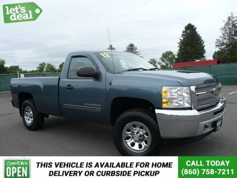 2012 Chevrolet Silverado 1500 for sale at Shamrock Motors in East Windsor CT