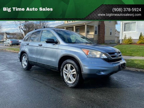2010 Honda CR-V for sale at Big Time Auto Sales in Vauxhall NJ