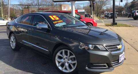 2015 Chevrolet Impala for sale at Gonzalez Auto Sales in Joliet IL