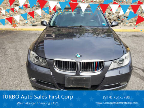 2008 BMW 3 Series for sale at TURBO Auto Sales First Corp in Yonkers NY