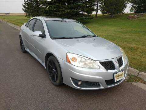 2010 Pontiac G6 for sale at Wolf's Auto Inc. in Great Falls MT