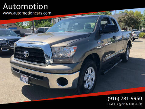 2008 Toyota Tundra for sale at Automotion in Roseville CA