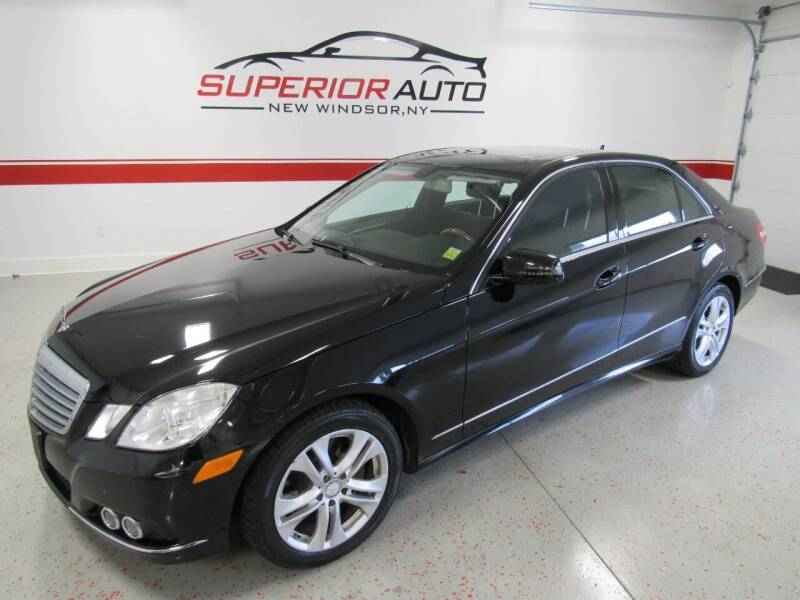 2011 Mercedes-Benz E-Class for sale at Superior Auto Sales in New Windsor NY
