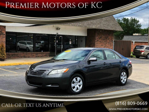 2009 Toyota Camry for sale at Premier Motors of KC in Kansas City MO