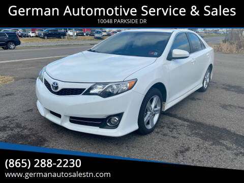 2012 Toyota Camry for sale at German Automotive Service & Sales in Knoxville TN