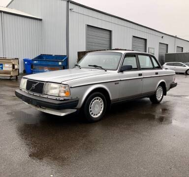 1989 Volvo 240 for sale at DASH AUTO SALES LLC in Salem OR