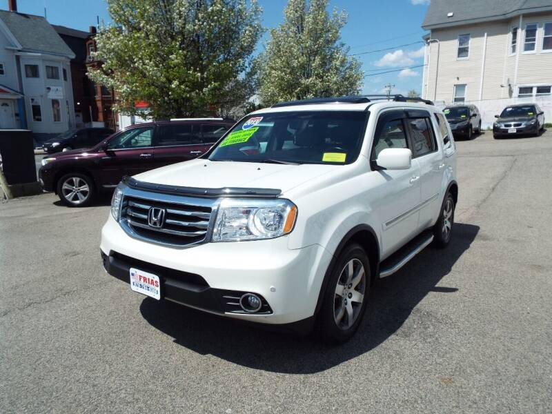 2013 Honda Pilot for sale at FRIAS AUTO SALES LLC in Lawrence MA
