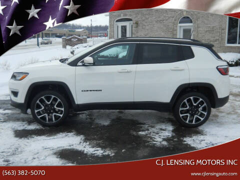 2018 Jeep Compass for sale at C.J. Lensing Motors Inc in Decorah IA