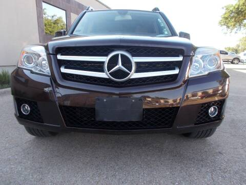 2012 Mercedes-Benz GLK for sale at ACH AutoHaus in Dallas TX