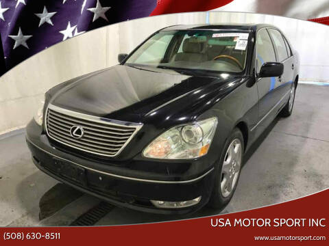 2004 Lexus LS 430 for sale at USA Motor Sport inc in Marlborough MA