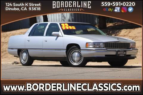 1994 Cadillac DeVille for sale at Borderline Classics in Dinuba CA