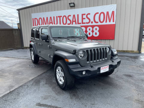 2020 Jeep Wrangler Unlimited for sale at Auto Group South - Idom Auto Sales in Monroe LA