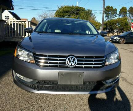 2014 Volkswagen Passat for sale at Life Auto Sales in Tacoma WA