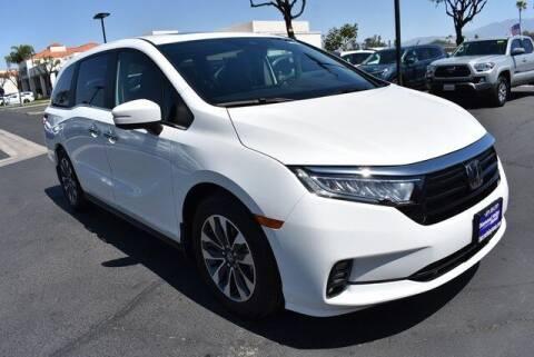 2022 Honda Odyssey for sale at DIAMOND VALLEY HONDA in Hemet CA