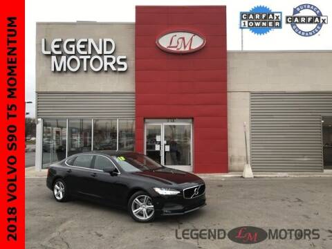 2018 Volvo S90 for sale at Legend Motors of Detroit - Legend Motors of Ferndale in Ferndale MI